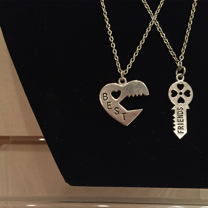 Best friends necklace central savannah river crematory for Jewelry stores augusta ga
