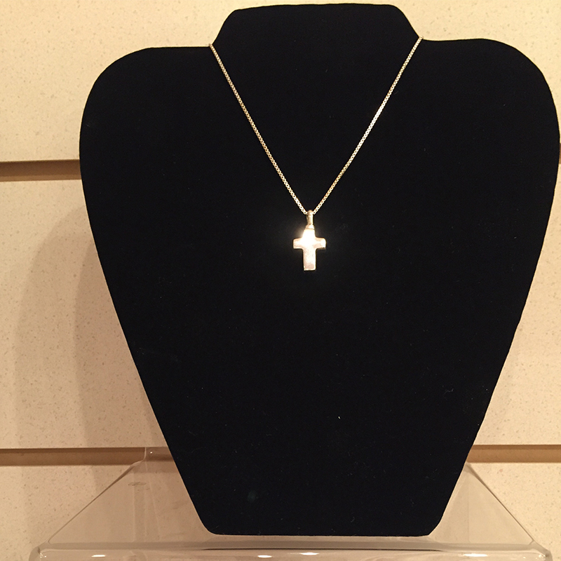 Small silver cross central savannah river crematory for Jewelry stores augusta ga